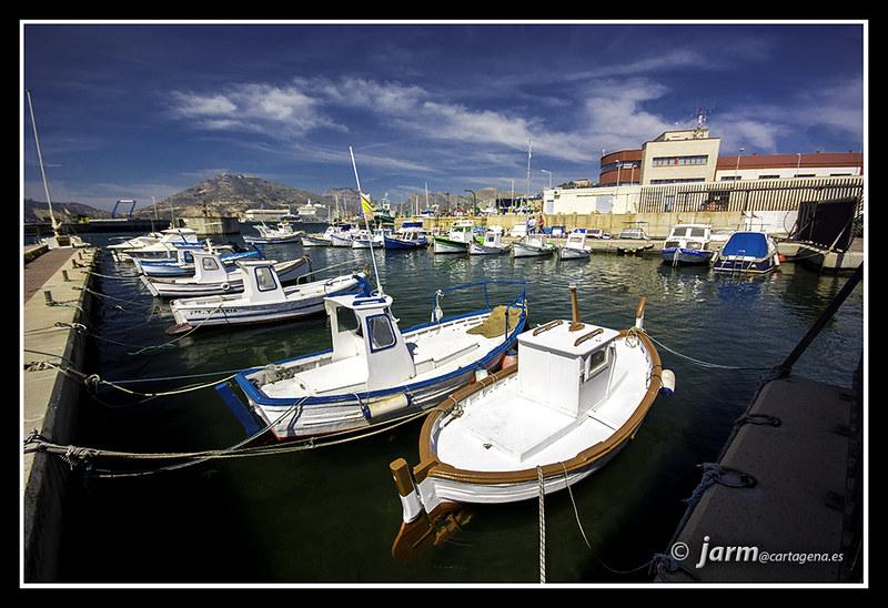 Puerto pescadores. Santa Lucía