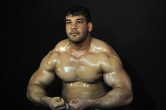 arm, chest, barechestedness, muscle, bodybuilder, bodybuilding,