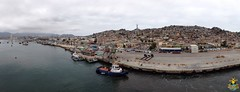 Panorama of Coquimbo harbour