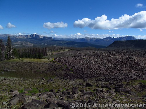 More views while hiking down Lava Mountain near Togwotee Pass, Bridger-Teton & Shoshone National Forests, Wyoming
