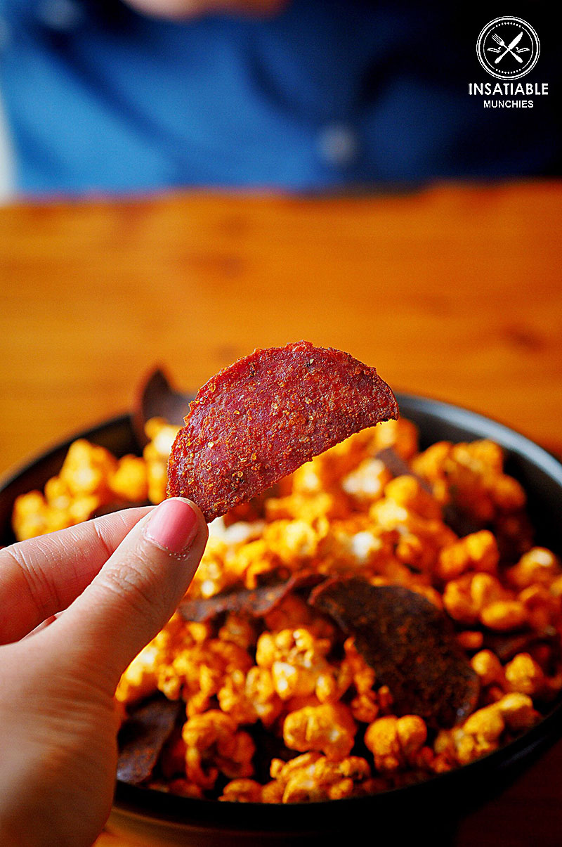 Sydney Food Blog Review of Los Vida, Crows Nest: Smoked Chilly Popcorn with Chorizo Chips, $7