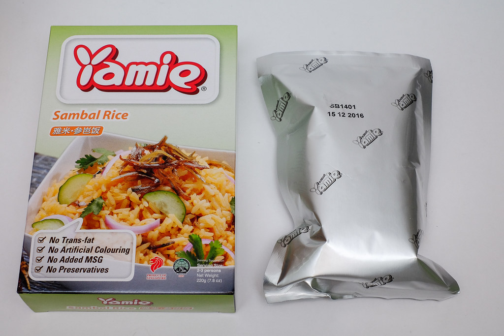 Yamie Sambal Rice Packaging