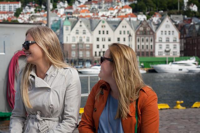 Kristina and Georgina