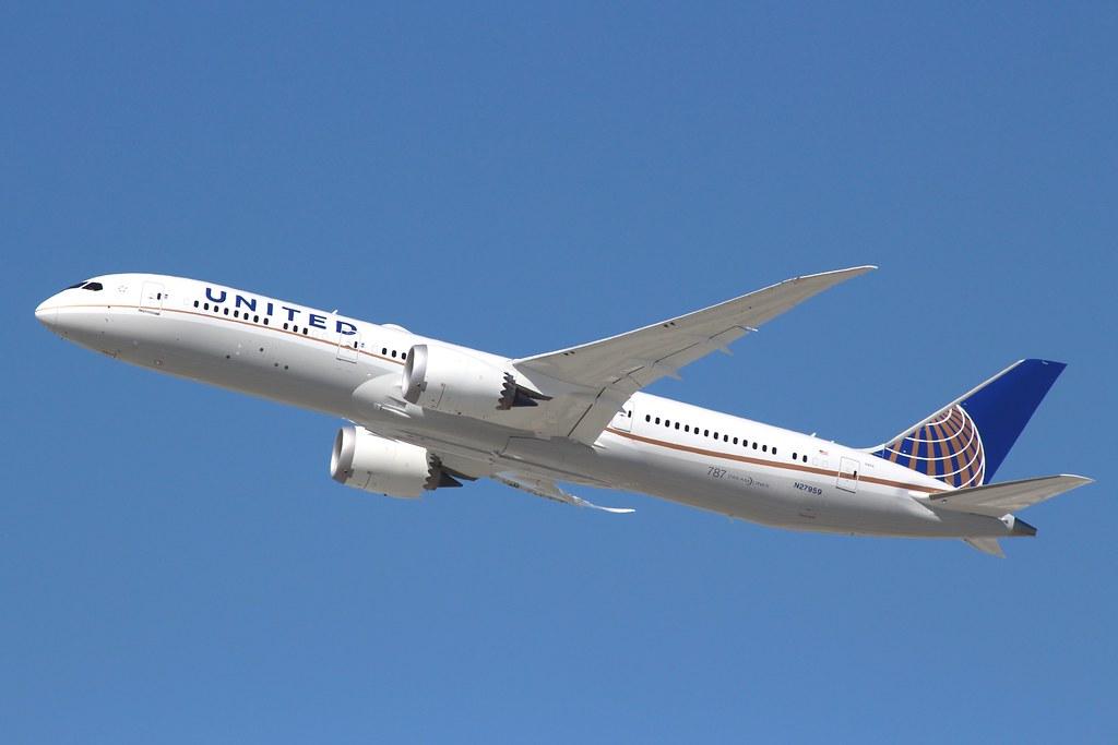 N27959 - B789 - United Airlines