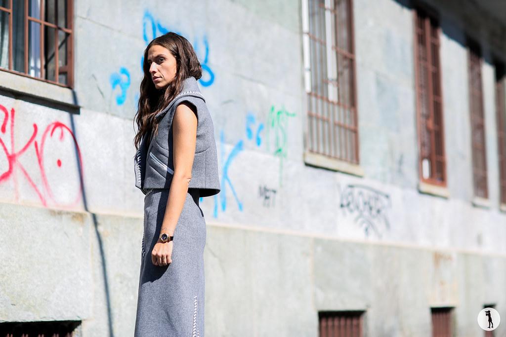 Erika Boldrin at Milan Fashion Week