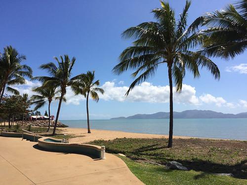 Townsville Beach - Hier legt die Fähre nach Magnetic Island ab
