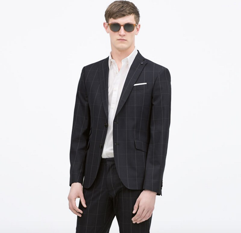 Windowpane Suit