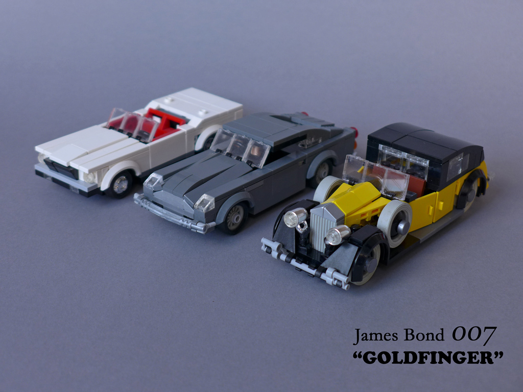 "James Bond 007 ""Goldfinger"" - Movie Cars"