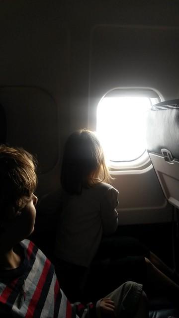 Flug nach Seattle