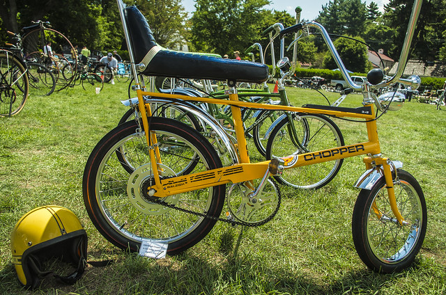 1969 Raleigh Chopper MK-1 bicycle