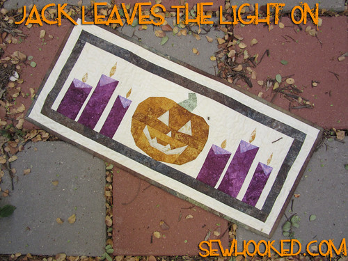 Jack Leaves The Light On by Jennifer Ofenstein, sewhooked.com