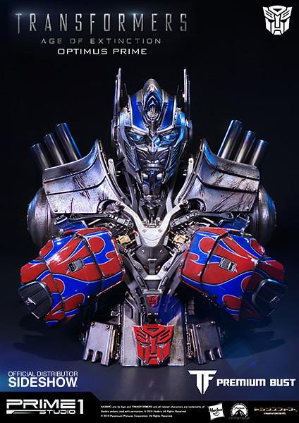 Prime 1 Studio 變形金剛4:絕跡重生【柯博文】Optimus Prime 半身胸像