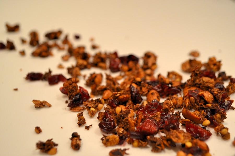 Buchweizen-Granola Mit Cranberries