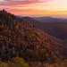 East Fork Overlook - Blue Ridge Parkway, Western NC by pvarney3