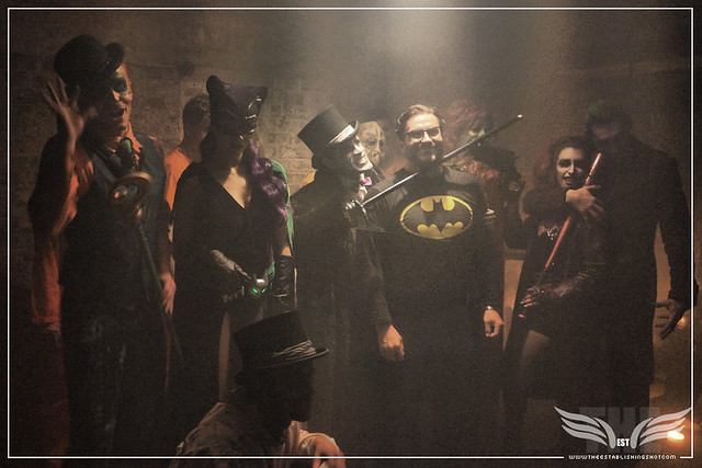 The Establishing Shot: AT THE ROGUES GALLERY - CREATION OF A SUPER-VILLAIN BOOK LAUNCH @ THE CRYPT GALLERY, LONDON - OCT 2015