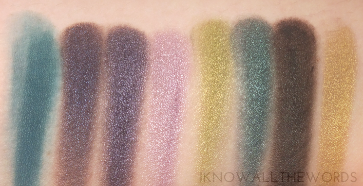 Sephora Collection Ombre Eyeshadow Palette swatches (3)