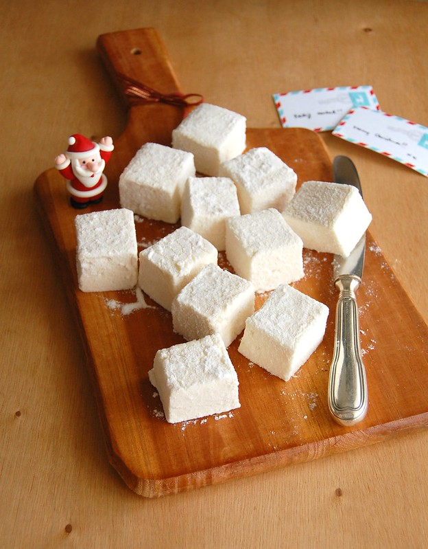 Eggnog marshmallows / Marshmallows de eggnog