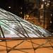 Triangeln trainstation by night