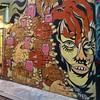 Handy #girlmobb #streetart #mural #urbanart #ClarionAlley #SanFrancisco #California @mobbpink