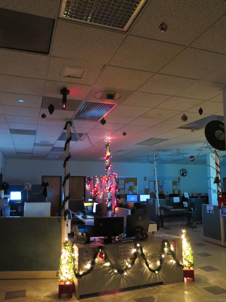 Christmasy Computer Lab