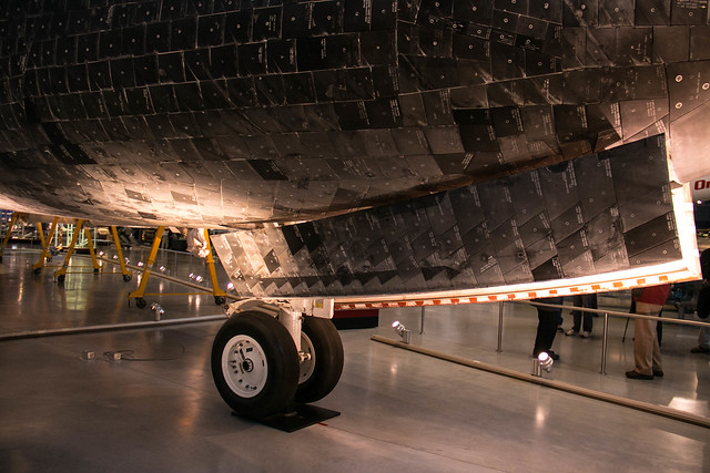 Individual Tiles on the Space Shuttle Discovery