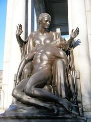 Bolton, Lancashire - cenotaph detail