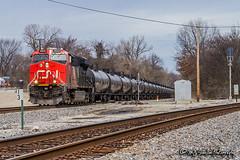 CN 2840 | GE ES44AC | CN Yazoo Subdivision
