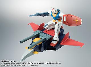 全7種型態完全再現!ROBOT魂 G戰機 Gファイター ver. A.N.I.M.E.