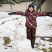 Our Snowperson! by Vegan Butterfly