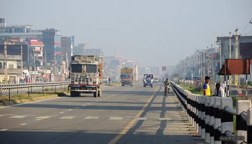 bhairahawa camion nepal route