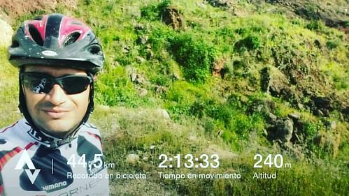#mtb #ciclismo #selfie #paisaje ya estamos en #primavera