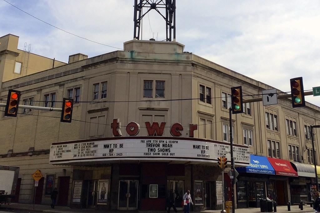 Tower Theatre Upper Darby PA - Retro Roadmap