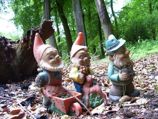 Evil Gnomes These Little Bastards Have Appeared At The