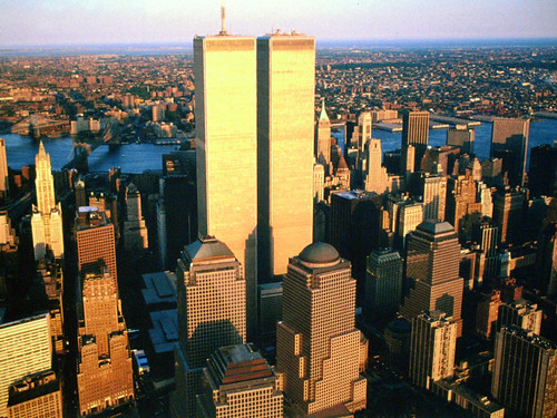 View of the majestic World Trade Center