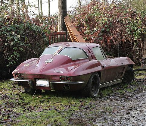 158484998 for Corvette split window 63