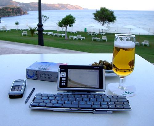 Blogging less