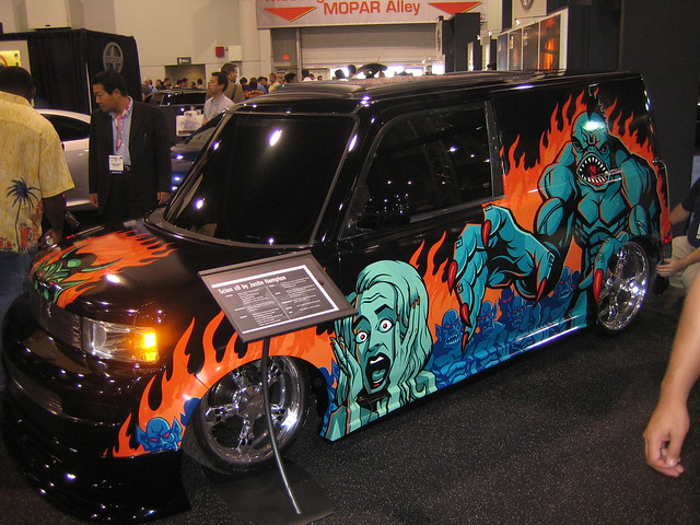 Crazy Paint Job For Fancy Car Flickr Photo Sharing