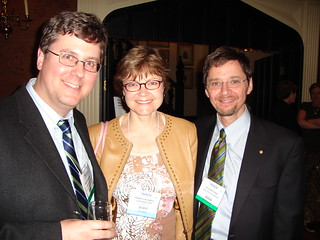 Maisonneuve publisher and editor-in-chief Derek Webster, Cottage Life editor Penny Caldwell and Canadian Geographic editor-in-chief  Rick Boychuk.