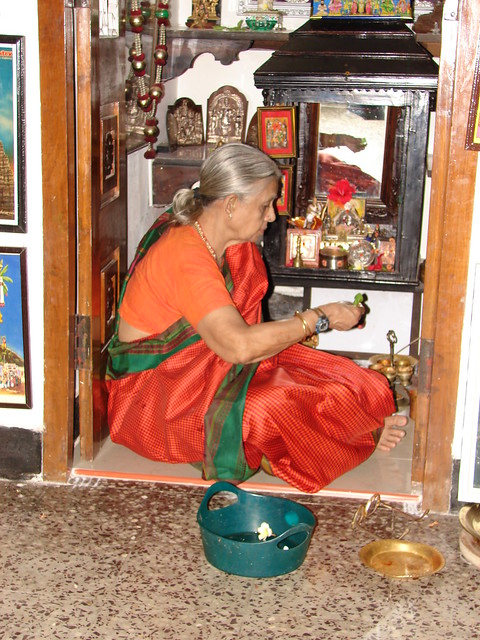 Pooja Room In Kitchen Designs