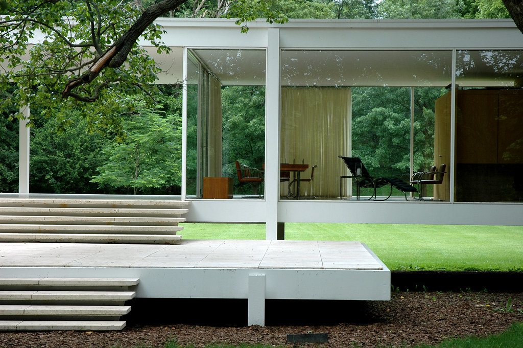 mies 39 farnsworth house flickr photo sharing. Black Bedroom Furniture Sets. Home Design Ideas