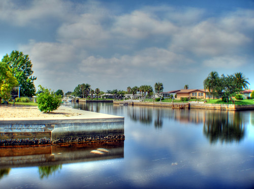 canal waterfront hudson hdr hudsonfl