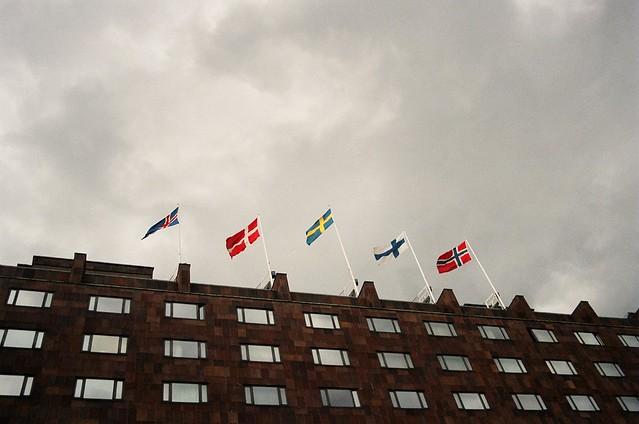¿Banderas nórdicas o escandinavas?
