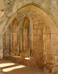 Inside Bodiam Castle