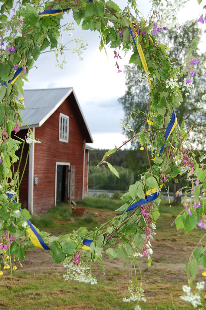 The barn in Sweden, photo by iHanna, Copyright Hanna Andersson