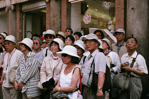 Japanese Tourists Just Stare