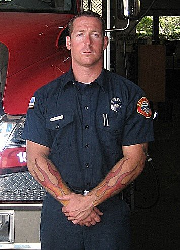 Firefighter and emt tattoos photos