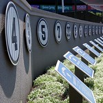NYC - Bronx - Yankee Stadium: Monument Park - Retired Numbers
