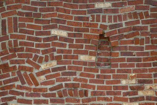 arcx009 Drunkards path brick veneer