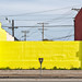 yellow wall. culver city, ca. 2004. by eyetwist