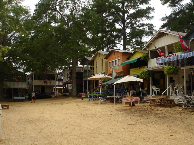 Cabins at Neshoba County Fair